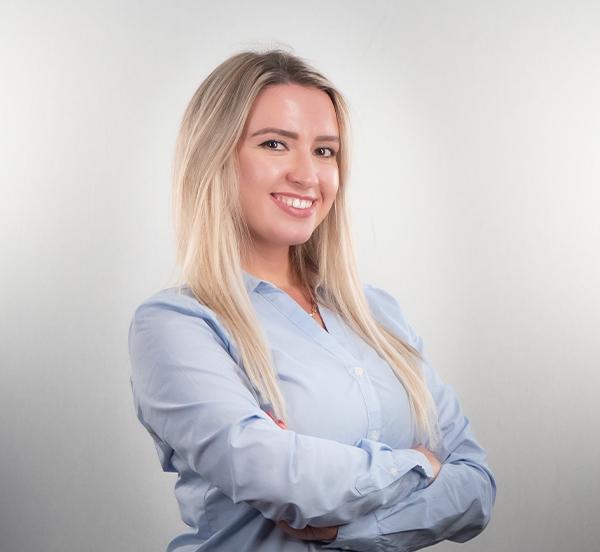Elmedina Billali - Receptionist