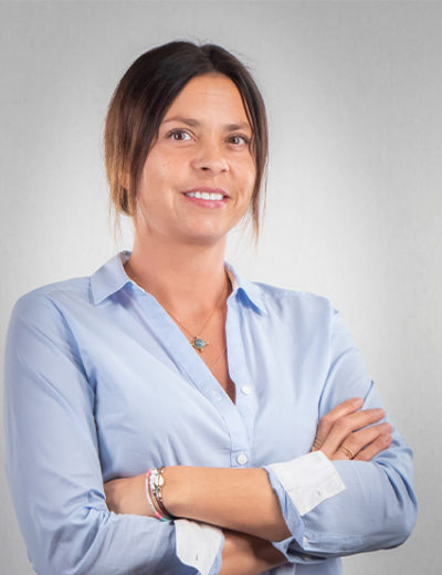 Frau Fabienne Bachmann - Rezeptionistin